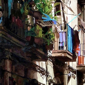 "Charles Rouse ""Barcelona Balconies"" 2nd Place – 79th International Open Exhibition 2019"