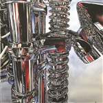 "Kathie Dworak ""Coils and Chrome"""